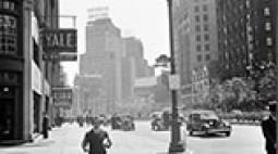 A New York-i Broadway az 1930-as évek végén