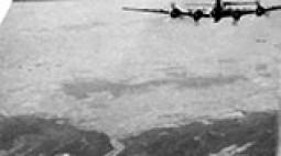 B-17-es amerikai bombázó magyarországi bevetésen.